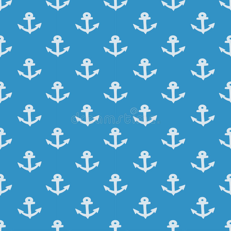 Nautyczny elementu patchworku wzór ilustracji