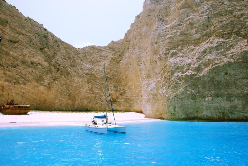 Navagio Bay - Zakynthos stock photos
