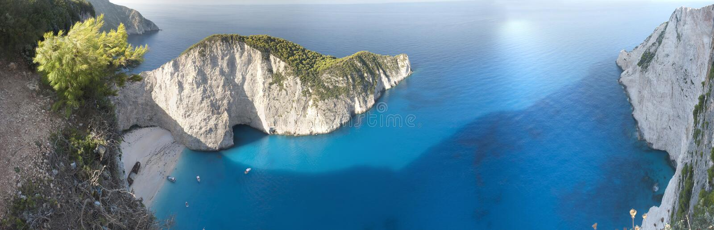 Download Navagio Beach Ionian Sea stock photo. Image of navagio - 28216862