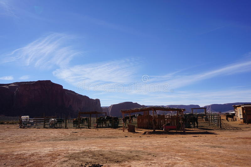 Monument Valley Navaho Tribal Park, Utah- USA stock photos