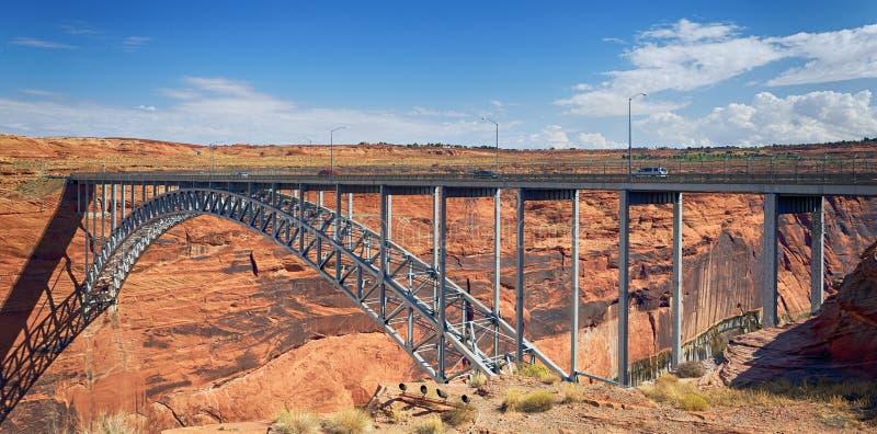 Navajo Bridge stock image