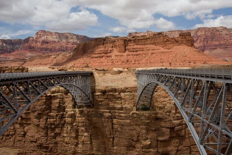 Navajo Bridge Arizona royalty free stock photography