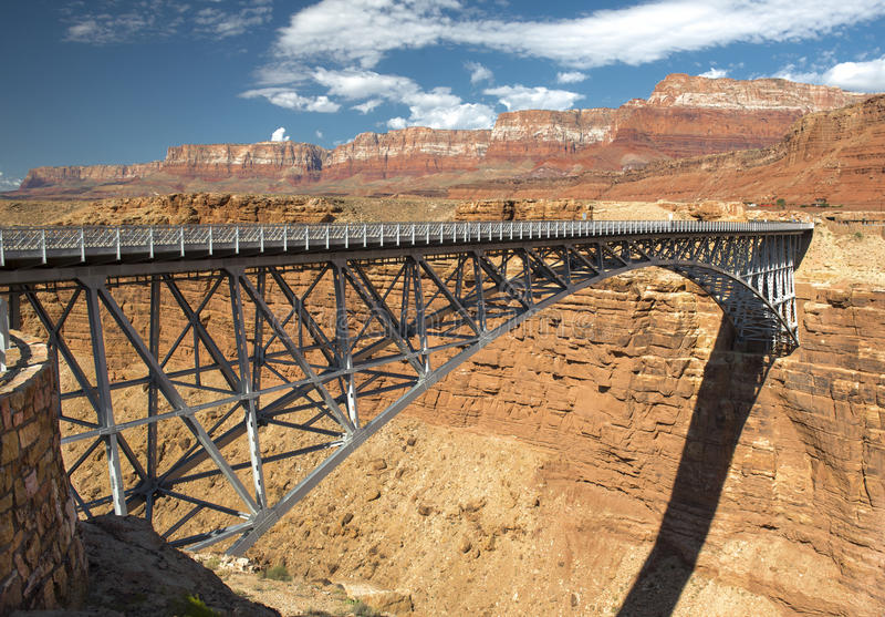 Navajo Bridge royalty free stock image