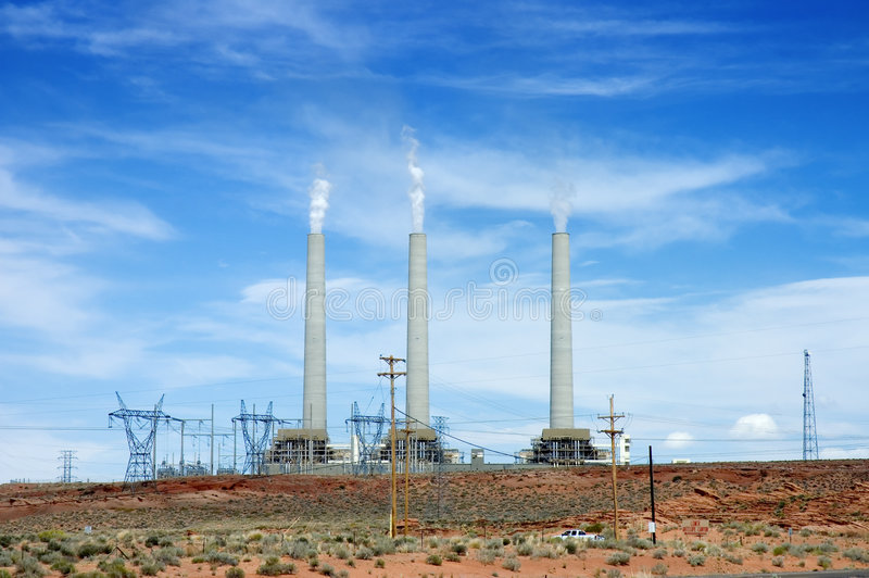 Navajo Generating Station stock photos