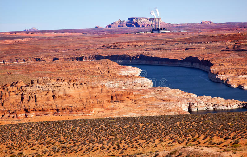 Navajo Generating Station Lake Powell Glen Canyon
