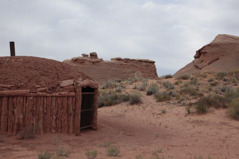 Navajo Heritage Centre, Coppermine Road, Page, Arizona, États-Unis images libres de droits