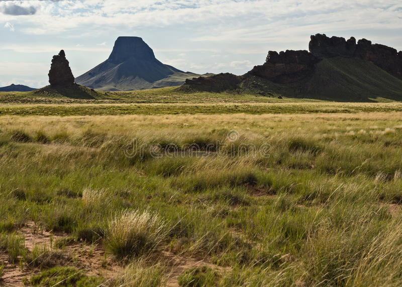 Navajo Nation scenery. Rock formations on the Navajo Nation, Arizona royalty free stock photos