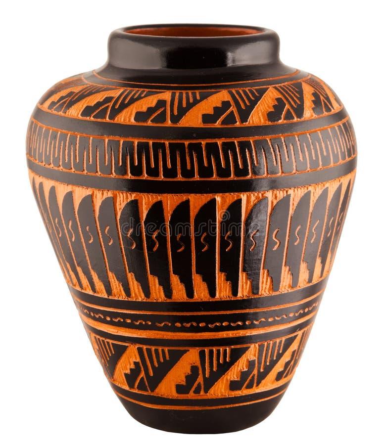Free Navajo Native American Clay Pottery Vase Stock Photography - 28908652