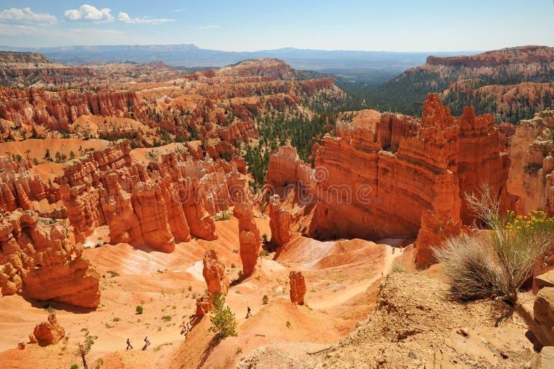 Navajo Pętli Ślad - Bryce Jaru Park Narodowy obrazy royalty free
