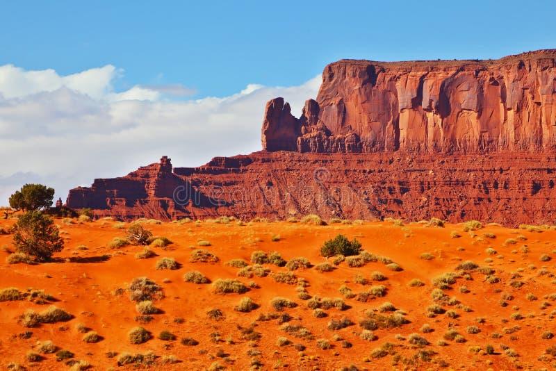 Navajo rouge de désert photo stock