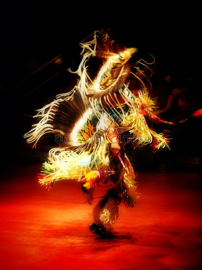 Navajo taniec zdjęcia stock