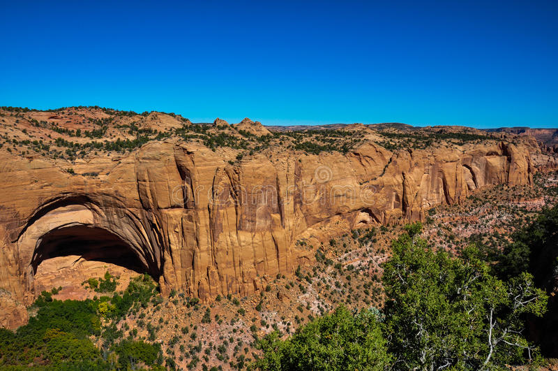 Navajo Tribal National  Monument, Arizona, USA Stock Photo