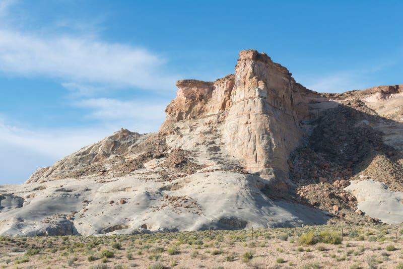 Navajoandstoneklippor royaltyfria bilder