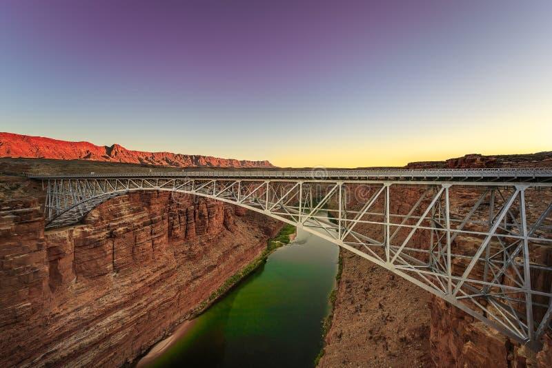 Navajop桥梁,亚利桑那 免版税图库摄影