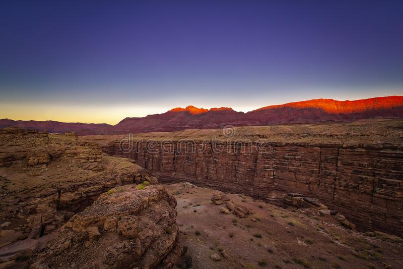 Navajop桥梁,亚利桑那 库存照片