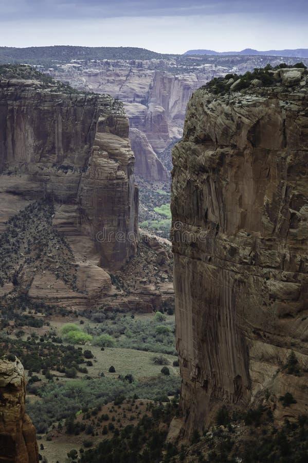 Navajos farms land. Canyon De Chelly, Navajos farm land in Arizona, USA royalty free stock photography