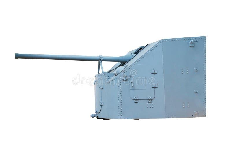 Download Naval Gun. World War II stock image. Image of clouds - 16115449