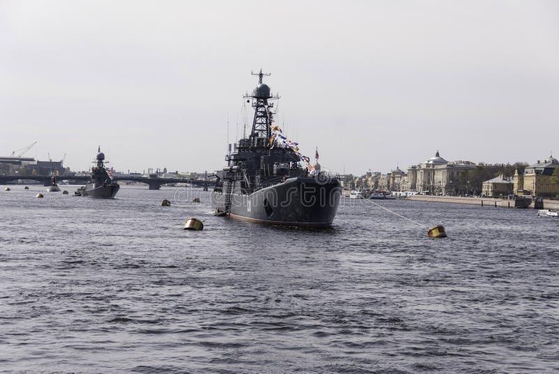 Naval parade royalty free stock image