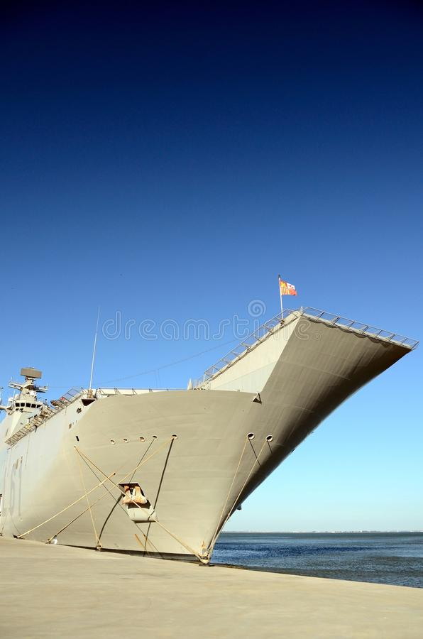 Download Naval ship docked stock image. Image of boat, gray, defense - 25819003