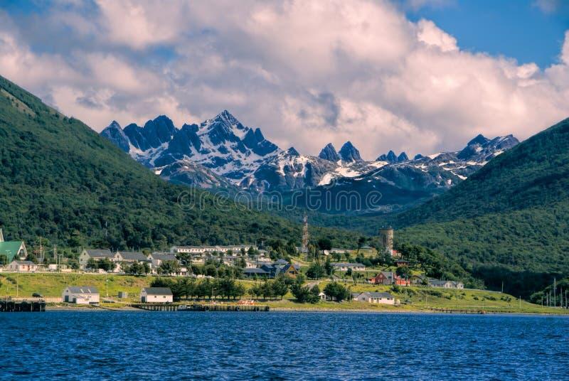 Navarino海岛在智利 库存照片