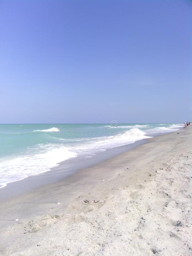 Navarre plaża fotografia stock