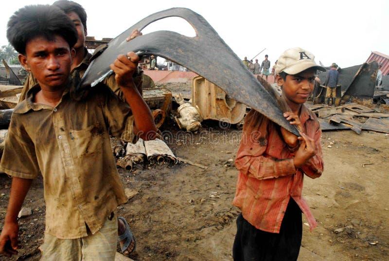 Nave adaptación Bangladesh foto de archivo libre de regalías