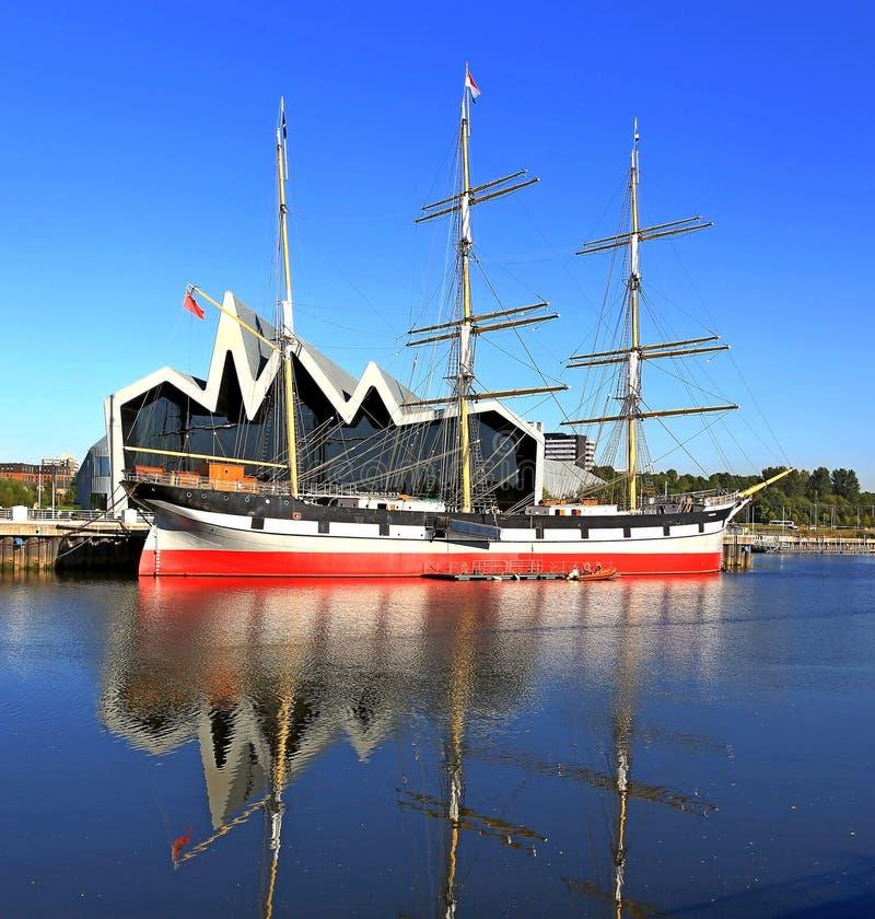Nave alta Glasgow del paisaje imagen de archivo libre de regalías