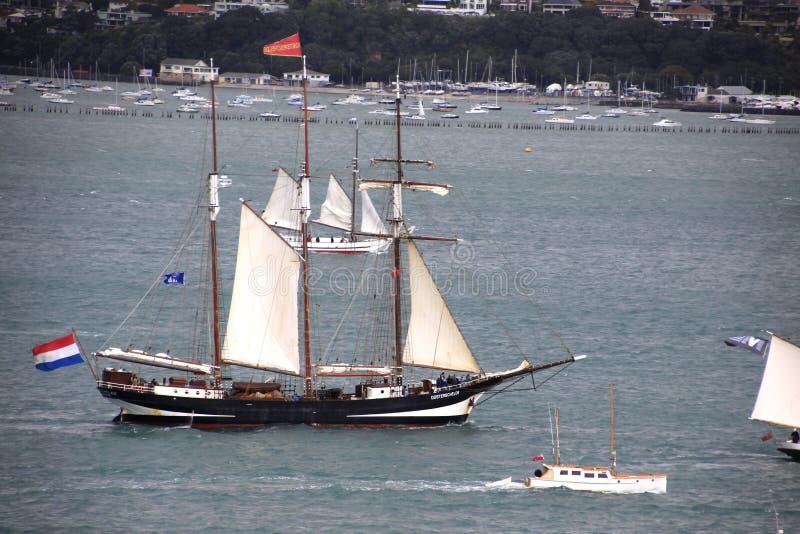 Nave alta Tecla en Auckland foto de archivo libre de regalías