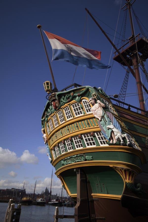 Nave Amsterdam del COV fotografie stock
