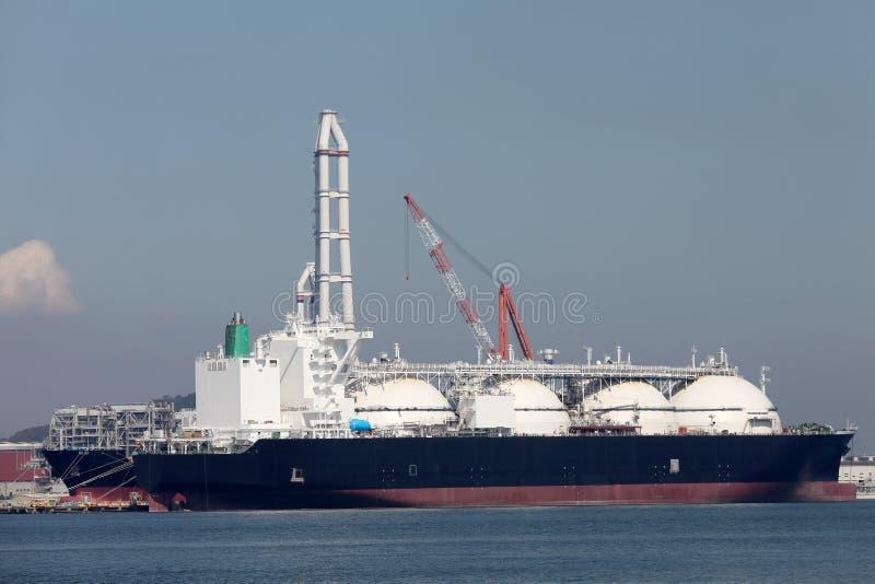 Nave da carico di LNG immagine stock