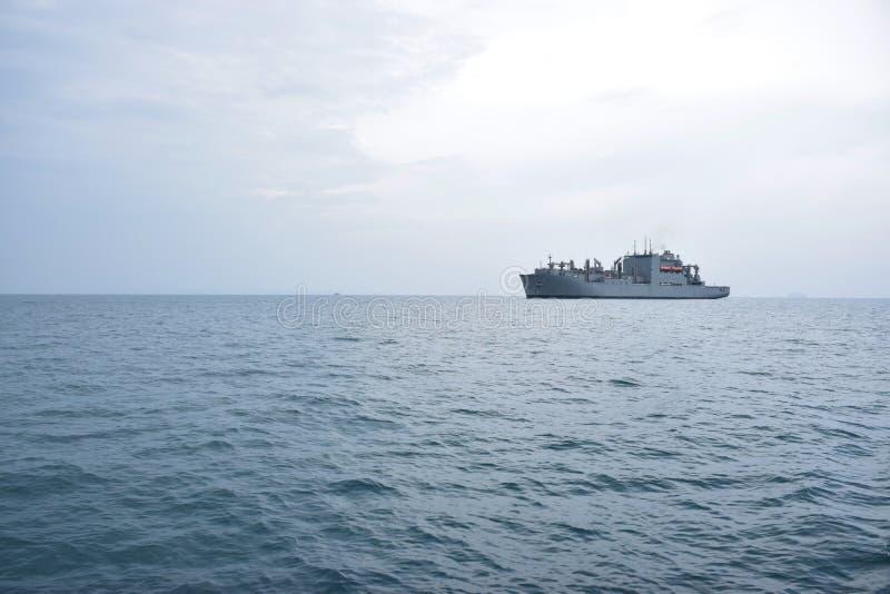 Nave da guerra, nave da guerra fotografie stock libere da diritti