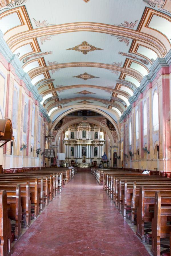 Nave de basilique de St Michael Arkhangel photo stock