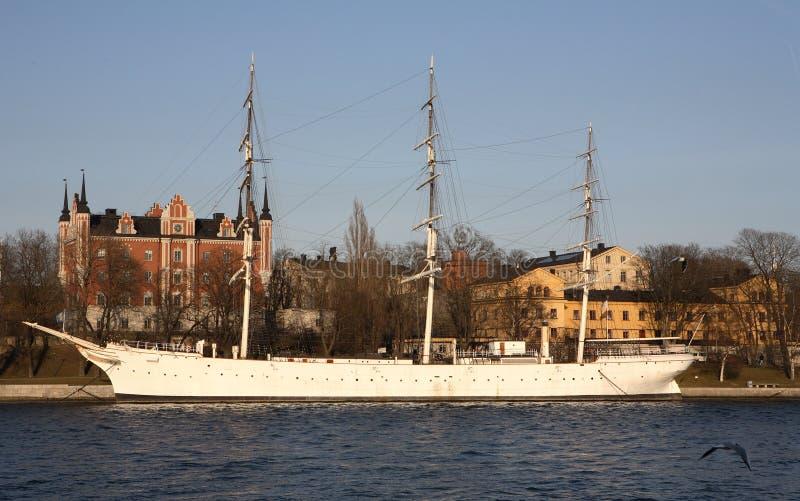 Nave de Gamla Stan Estocolmo foto de archivo libre de regalías