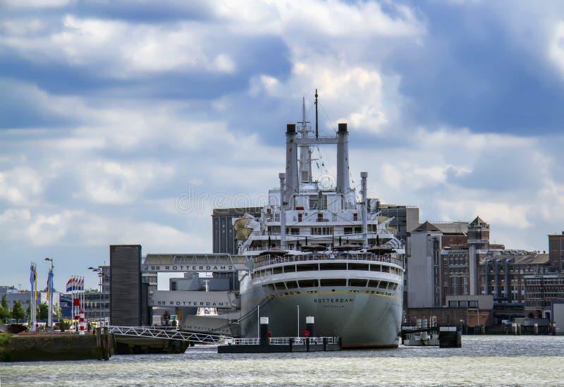 Nave de los SS Rotterdam imagen de archivo libre de regalías