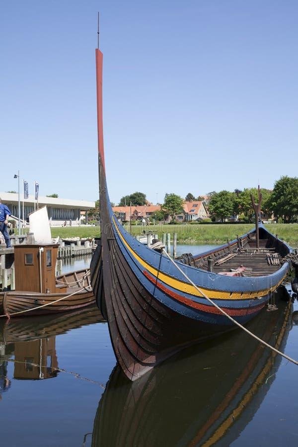 Nave de Vikingo fotografía de archivo