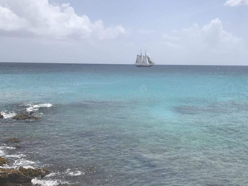 Nave dei Caraibi immagini stock