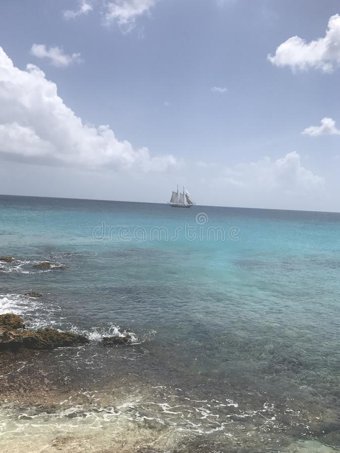 Nave dei Caraibi fotografia stock libera da diritti