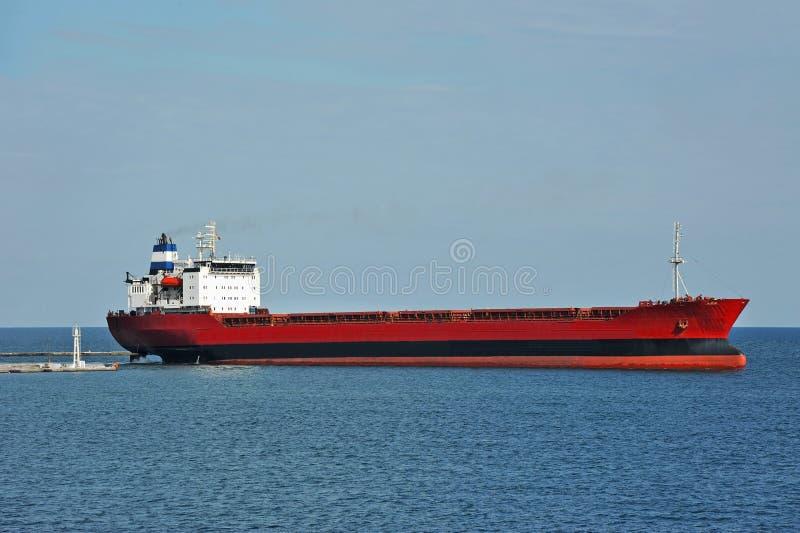 Nave del carguero de graneles foto de archivo