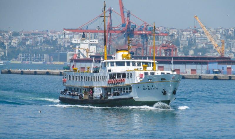 Nave del puerto marítimo del cargo imagen de archivo libre de regalías