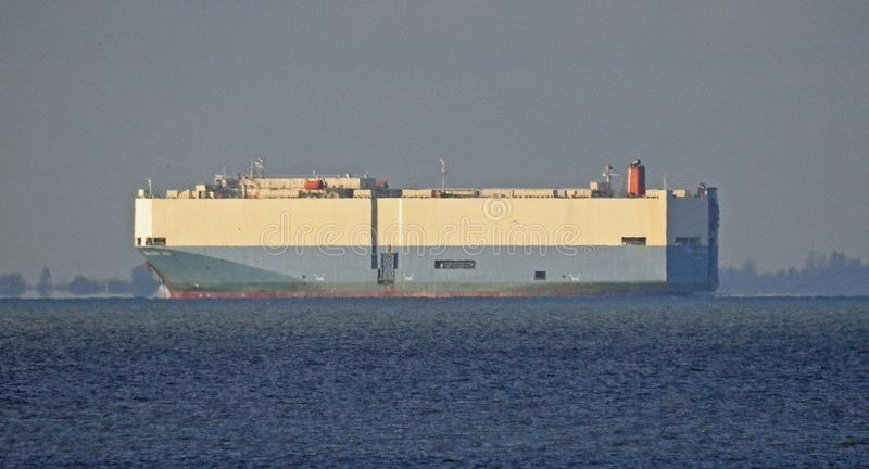 Nave della nave da carico del trasporto dell'asso di valore fotografie stock