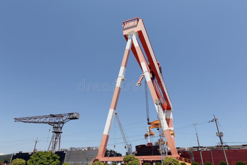 Nave di costruzione immagine stock