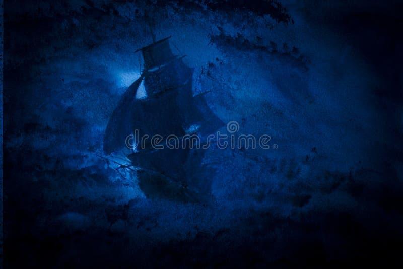 Nave di navigazione royalty illustrazione gratis