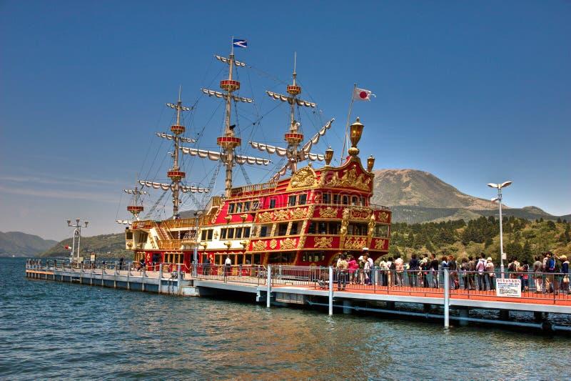 Nave di pirata di Hakone immagine stock libera da diritti