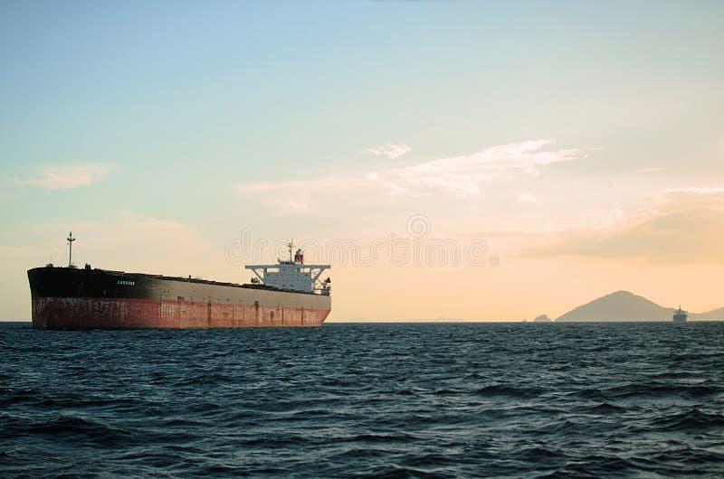 Nave en Panamá delantera foto de archivo libre de regalías