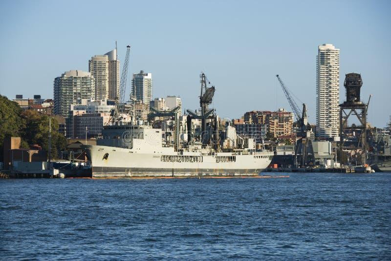 Nave en Sydney, Australia. imagenes de archivo