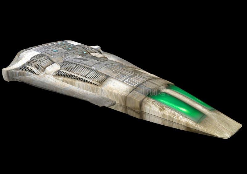 Nave espacial stock de ilustración