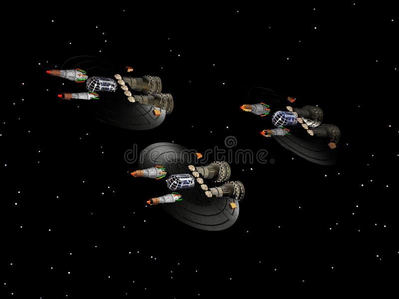 Nave espacial 7 libre illustration