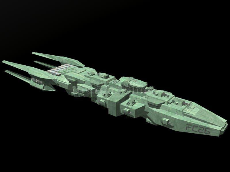 Nave espacial ilustración del vector