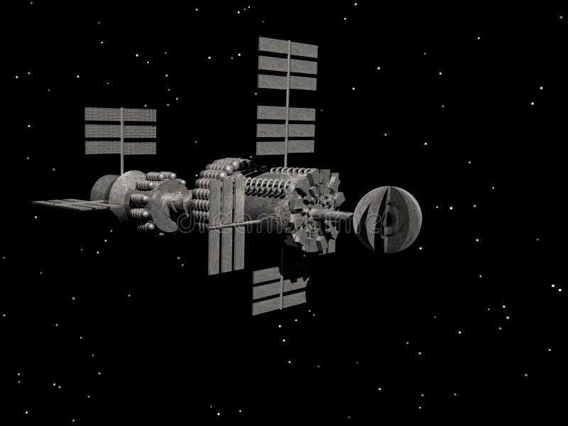 Nave espacial antigua libre illustration