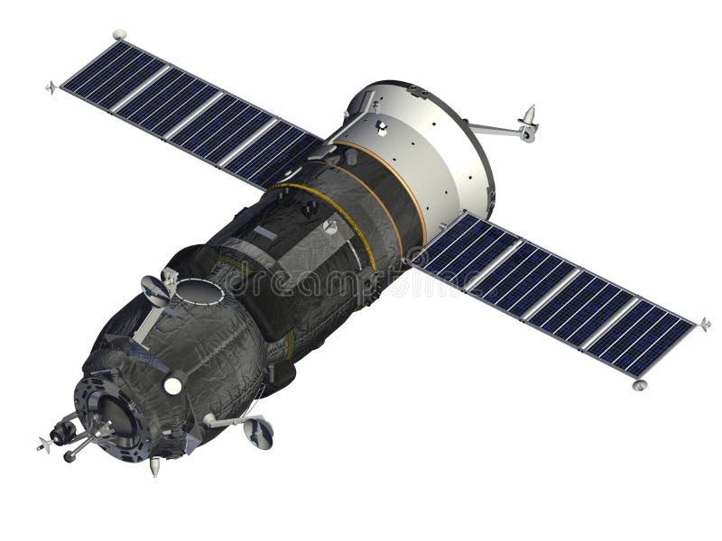 Nave espacial del cargo libre illustration
